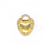 Heart Locket Charm, 1/PK