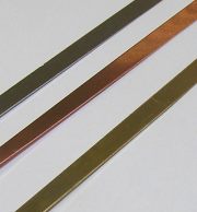 "Copper Bezel Strip, 26 gauge, 1/8"" x 12 inch"