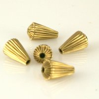 Raw Brass Beads & Findings