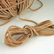 Round Rawhide Leather Cord 2mm 8 yds
