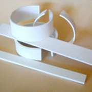 Faux Bone&#8482 Strips Blanks 50mm x 1/16""