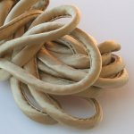 "Silk Cord - Golden Tan - 1/4"" by the yard"