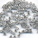 "1/16"" NICKLE Micro Eyelets Short"