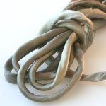 "Silk Cord - Sanded Bronze - 3/16"" by the yard"