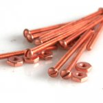 "Long Nuts & Screws (Copper Plated) 0-80 X 1"" 10/pk"