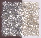 Mica Flakes 1 oz Jar Silver Flake Small