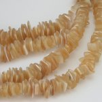 6 - 7mm Mother Of Pearl Crazycut Beads 70-80 pcs.