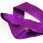 "Silk Ribbon Bias Cut - 3/4"" Delphinium"