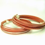 Copper Twist Round 18 Gauge/.073 Inch 5 Ft.
