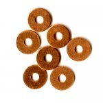 "Flat Copper Washers 3/8"" 10PK"