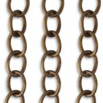 Vintaj 8.7mm Rounded Oval Chain CH0011