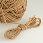 Round Rawhide Leather Cord 1.7mm 8 yds