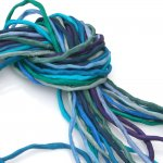 2mm Silk String Bundles Hand Dyed Deep Sea Bundle