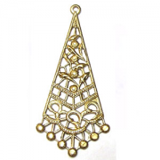 Large Diamond Filigree Drop, (Pkg of 2)