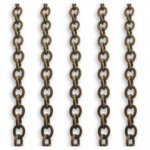 Vintaj 3.5 x 4mm Cable Chain CH40