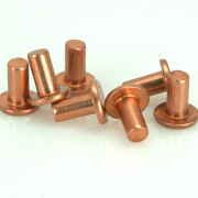 "Copper Rivet, Flat Head 1/8"" x 1/4"" 25 pk"