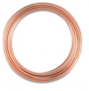 Copper Wire, Round, 22 Gauge, 25 ft