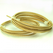 Red Brass Twist Round Wire 22 Gauge/.044 Inch 5 Ft.