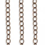 Vintaj 3.5mm Extra Fine Oval Chain CH0004