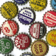 Vintage Bottle Cap 10ea Mixed Lot