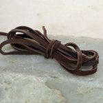 Deerskin Lace - Chocolate 4 yds