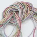 2mm Silk String Bundles Hand Dyed Dusty Tone Bundle 10 ea