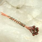 Enameled Headpins - Brick
