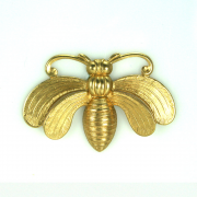 Large Moth Insect Brass Finding