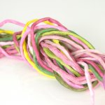 2mm Silk String Bundles Hand Dyed Peace Rose Bundle