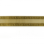 "1"" Bordered Net Brass Banding 6"""