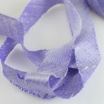 "Silk Ribbon Bias Cut - 3/4"" Lavender"