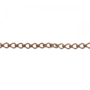 Copper Chain 8mm x 4mm link FT