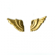 Brass Winged Pair Finding 1/pk