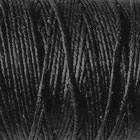 4 ply Irish Waxed Linen Thread/Cord 10 yds Black
