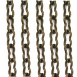 Vintaj 4 x 7mm Ornate Chain Aged Brass CH15