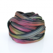 Shibori Ribbon Midnight Borealis - Shibori Girl Studio