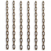 Vintaj 2mm x 3.5mm Fine Ornate Brass Chain CH10