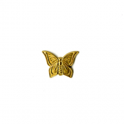 Small Butterfly, Raw Brass, PK/2