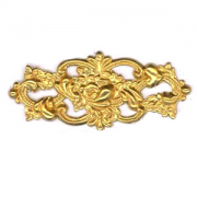 Filligree Plaque, Raw Brass 1/PK
