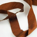 "Silk Ribbon Bias Cut - 3/4"" Antique Copper"