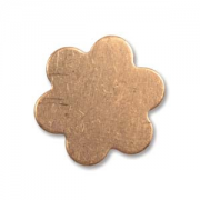 6 Petal Copper Flower SMALL 6/pk
