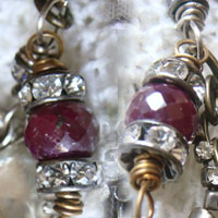 Crystal Beads/Rondelles/Chain